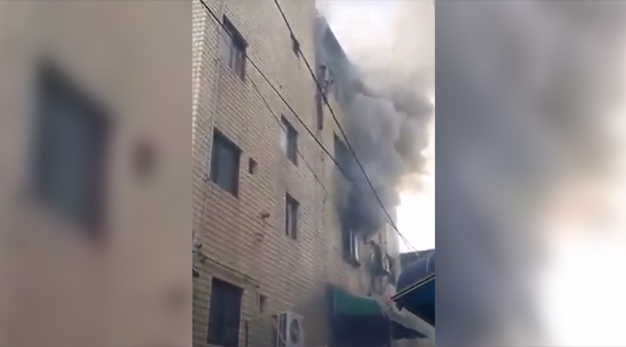 Burning down the house: US Soldiers save family in South Korea