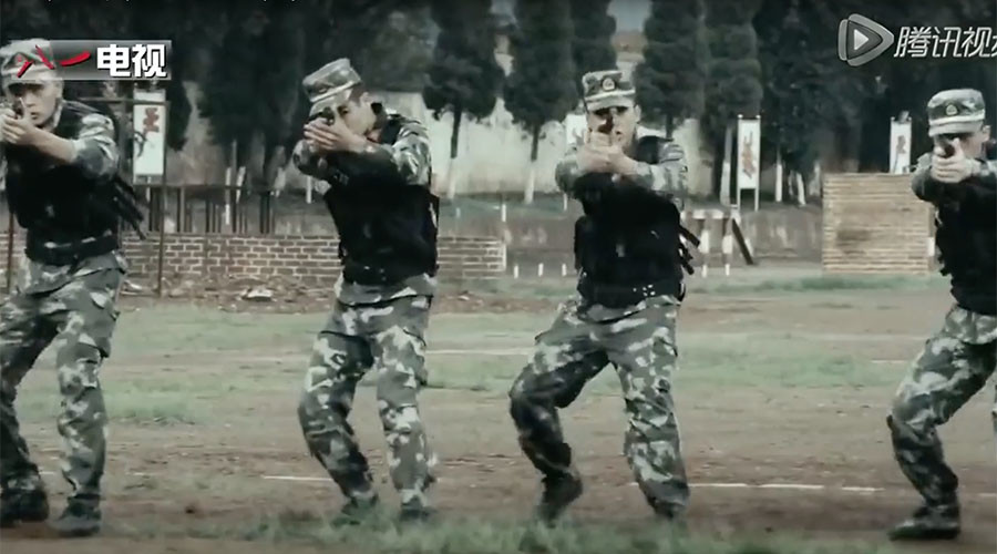 Rockets, rock climbing, & rap: China's military recruitment video storms the web