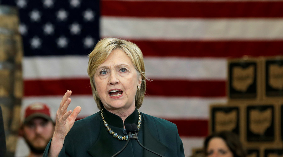 U.S. Democratic presidential candidate Hillary Clinton © Jim Young