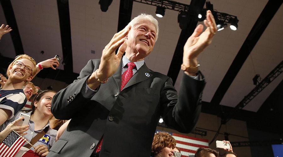 Former U.S. President Bill Clinton. ©Dominick Reuter