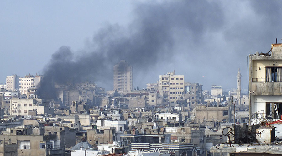 At least 12 dead, 45 injured in Homs suicide bombings