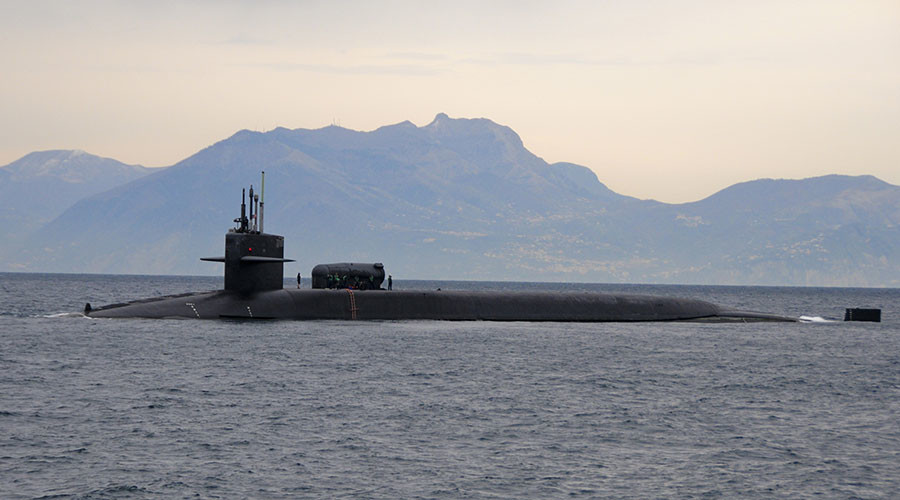 Royal Navy fires warning shots at tiny Spanish ship 'hassling' 18,000-ton US nuclear sub