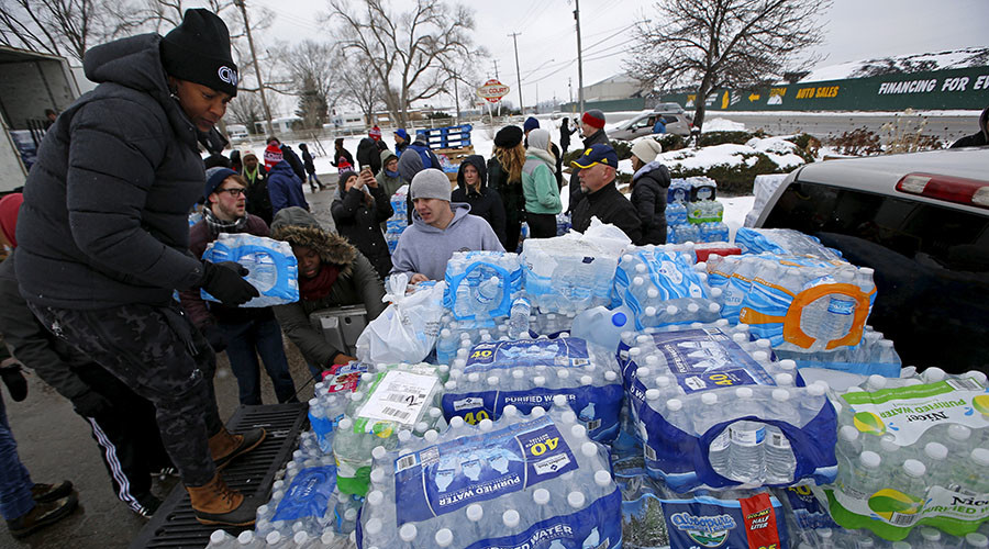 'Flint water crisis: US taxpayers will pay for government screw up'