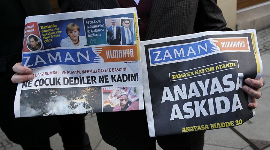 Turkish govt shuts down Zaman newspaper following seizure