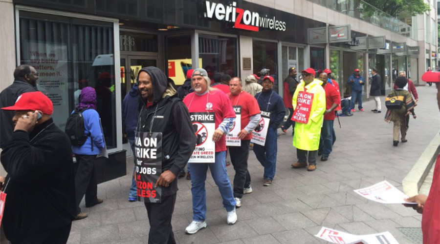 Thousands lose health benefits as Verizon strike continues