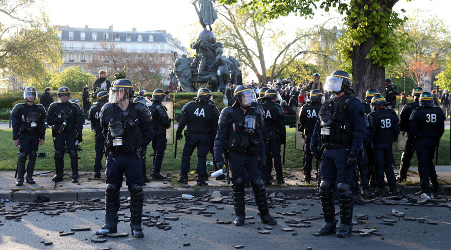 'Anti-cop violence': French police plan protest against 'public hatred' they face