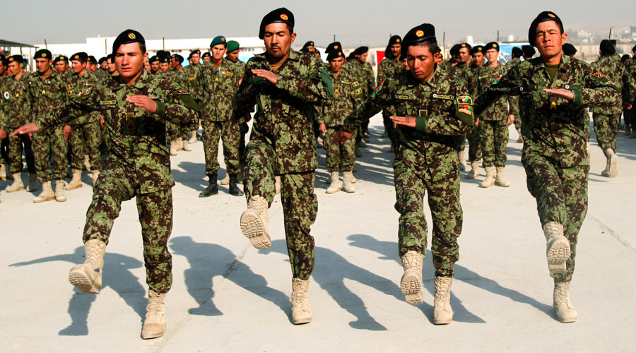 US forced to buy boots for Afghan army despite billions already invested - report
