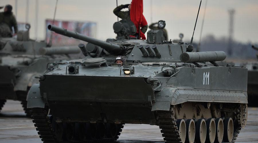 Combat tracked amphibious vehicles BMD-4M © Vladimir Astapkovich