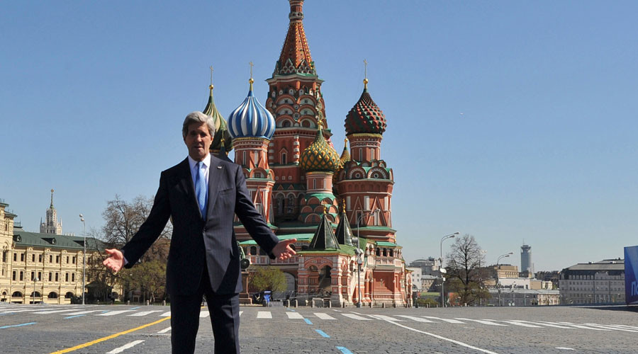 'His heart is in Moscow wherever John is': Russian Foreign Ministry comments on Kerry's calls