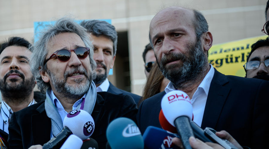 Turkish court sentences two journalists to over 5yrs for 'leaking state secrets'