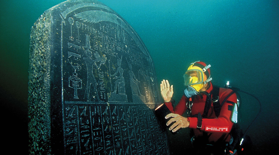 Egypt's Atlantis: Amazing artifacts from ancient underwater world go on display (PHOTOS, VIDEOS)
