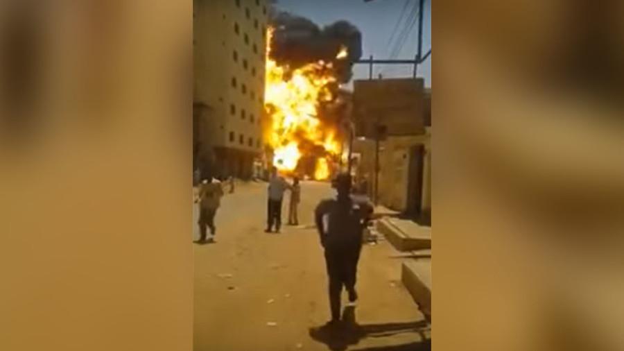 Tokeo la picha la explossion in khatoum