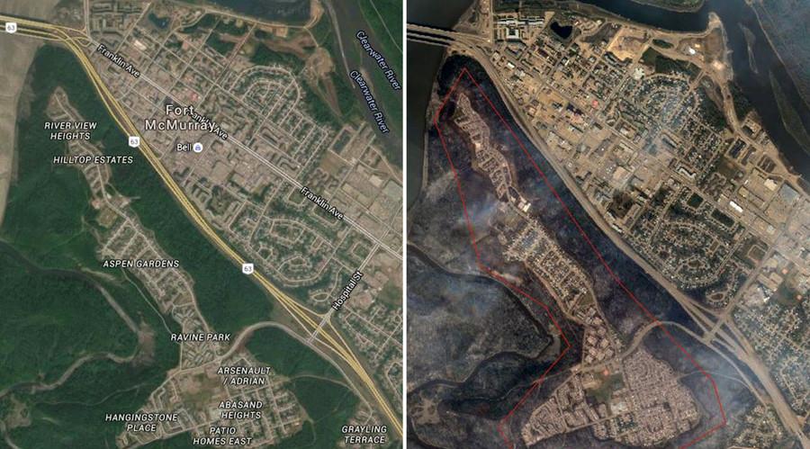 © Google Maps / Google Crisis Response Map