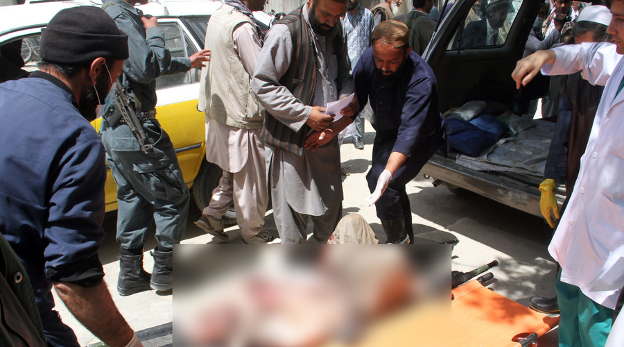 Over 50 dead in massive explosion in Afghanistan as 2 buses crash into fuel tanker