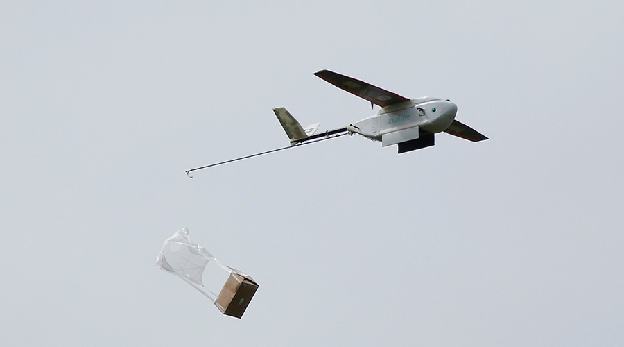 Drop blood not bombs: Drones to deliver emergency medicine to Rwanda