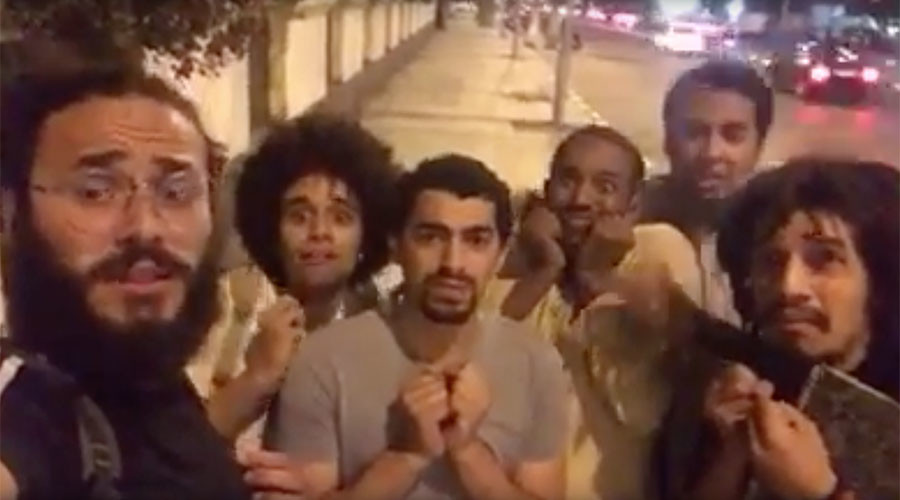 4 members of satirical street group, mocking president, arrested in Egypt