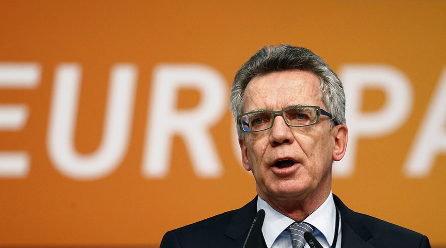No visa-free regime for non-compliant Turkey – German Interior Minister De Maizière