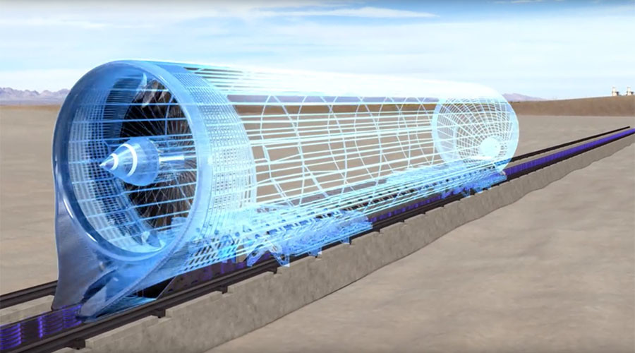 Hyperloop's 1st-ever track test a success in Las Vegas (NEW VIDEO)