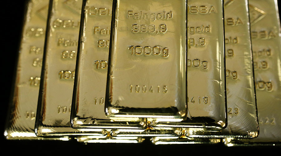 Central banks buying up gold to diversify away from US dollar