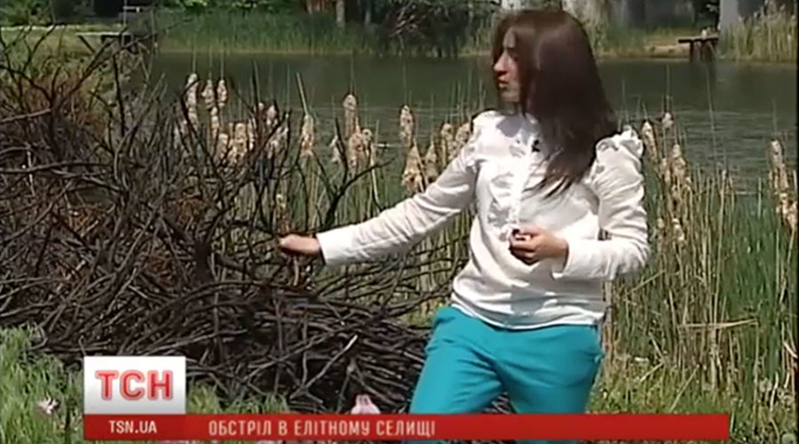 Kiev: President Poroshenko's neighbors report 'helicopter bomb attack'