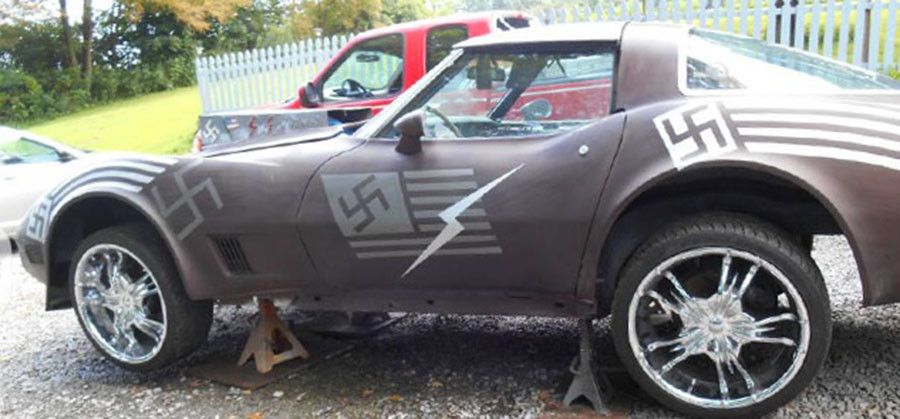 Swastika-covered Nazi Corvette removed from Craigslist after outrage