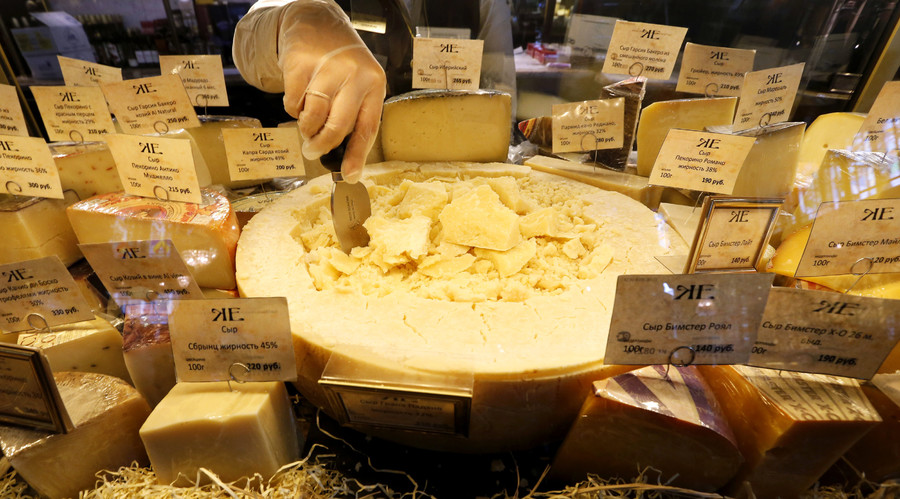 German cheesemaker comes to Russia