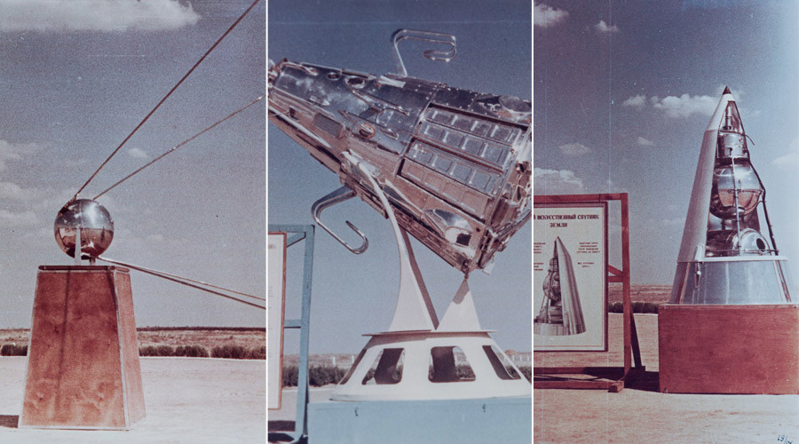 Mock-ups of first Soviet satellites © Ministry of Defence of the Russian Federation