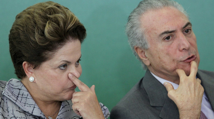 Dilma Rousseff and Michel Temer © Ueslei Marcelino