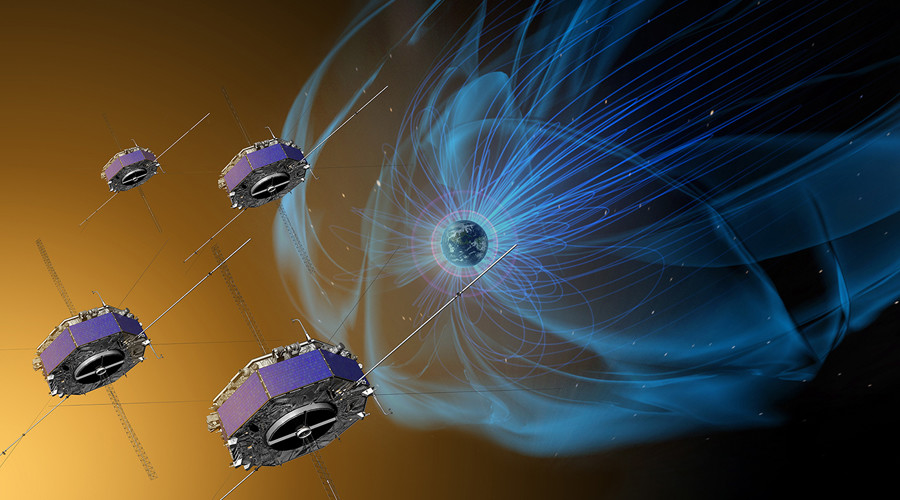 Invisible maelstrom: NASA flies spacecraft through magnetic explosions above Earth (VIDEO)