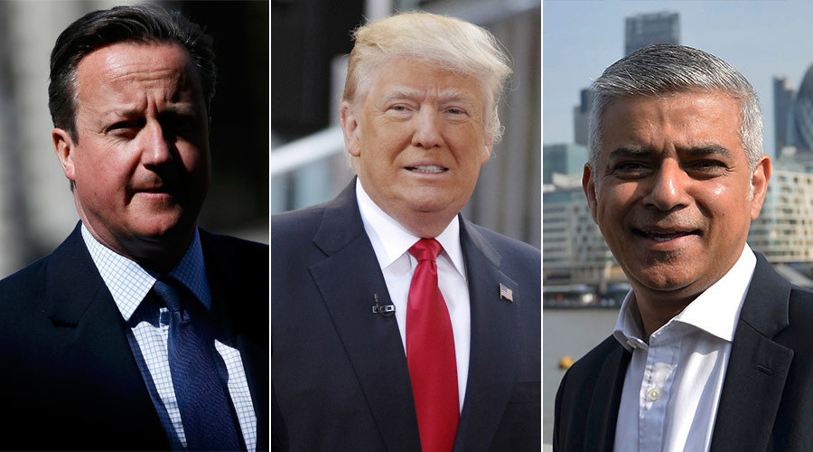 Trump calls London Mayor Khan 'ignorant' & predicts poor relations with Cameron