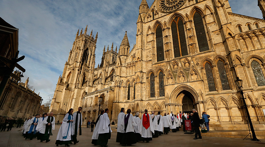 Church of England reveals huge investment in Google