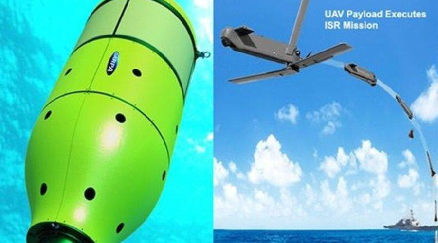 DARPA tests drone-launching pods that hide in ocean (VIDEO)