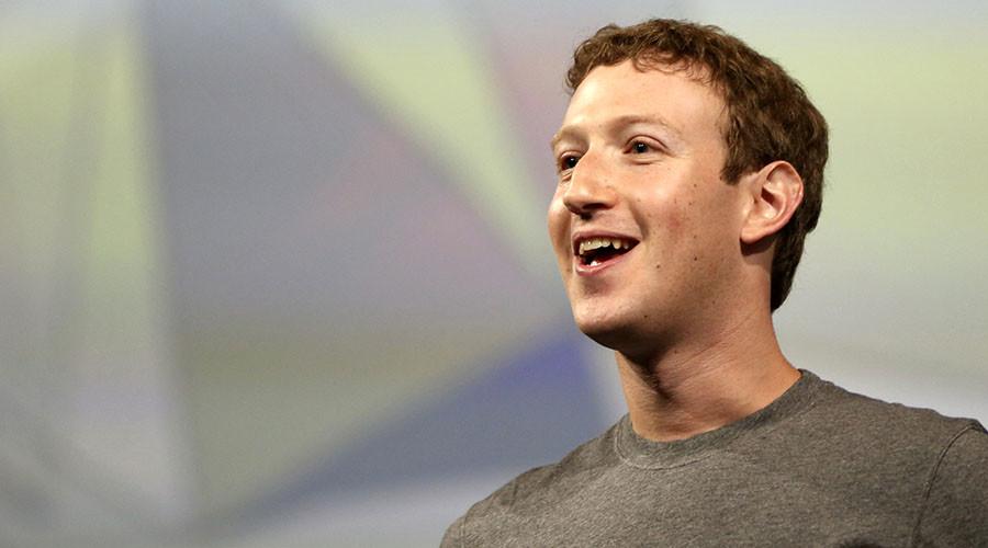 Facebook CEO Mark Zuckerberg. ©Robert Galbraith