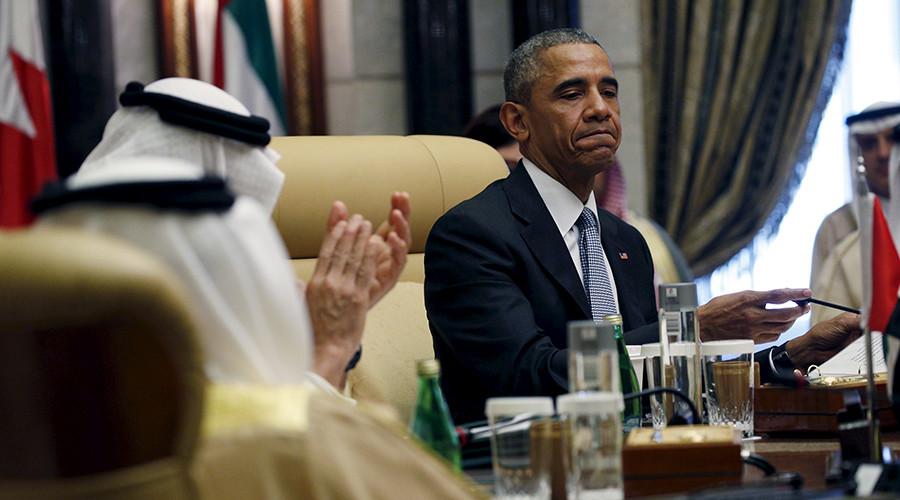 U.S. President Barack Obama (C) © Kevin Lamarque