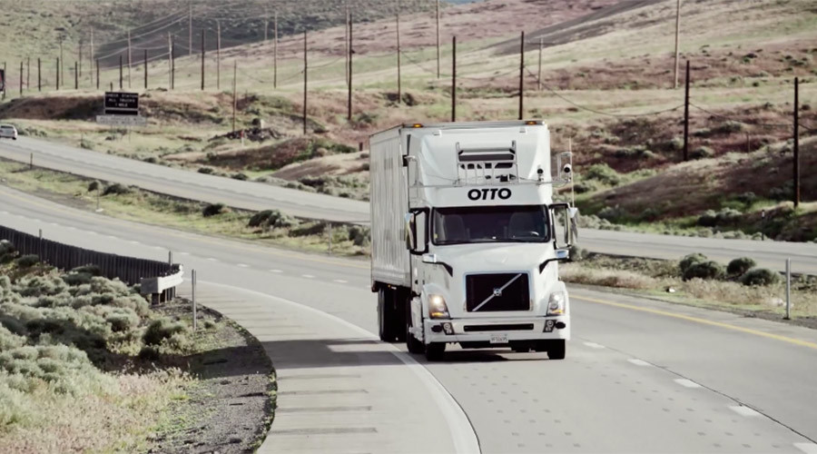Self-driving freight trucks project eyes US highway routes (VIDEO)