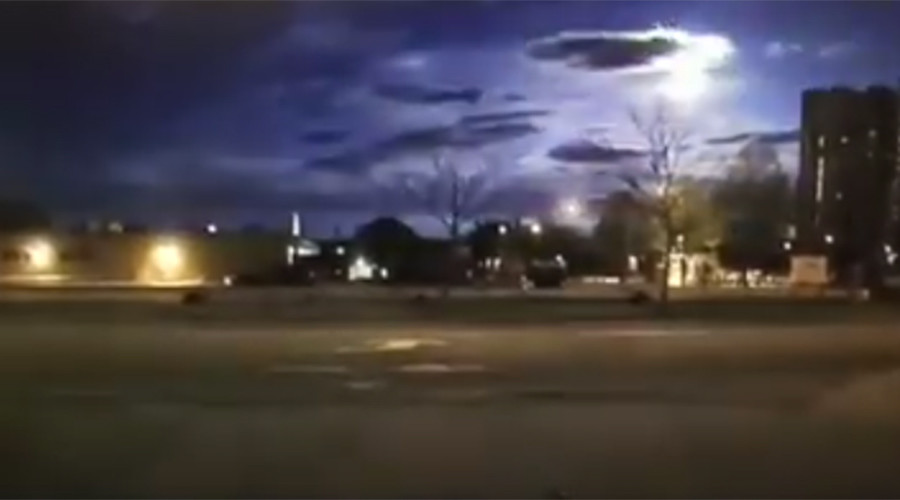 Cop dashcam captures spectacular giant fireball flaring over Maine (VIDEO)