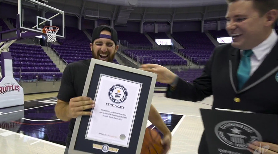 Smashing 11 basketball Guinness World Records in 2 days (VIDEO)