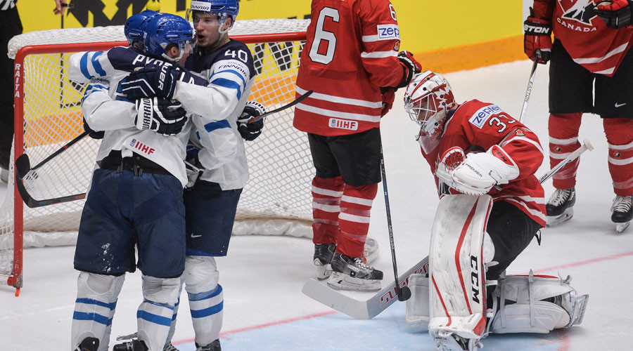 Finland beats Canada, Russia to face Germany in Hockey World Championships QF