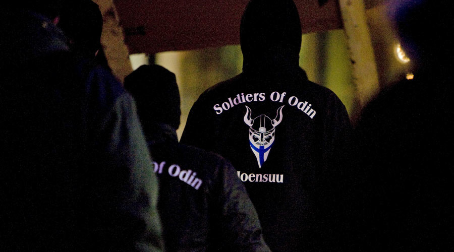 Glitter & unicorns for 'Soldiers of Odin' as feminist trademarks name