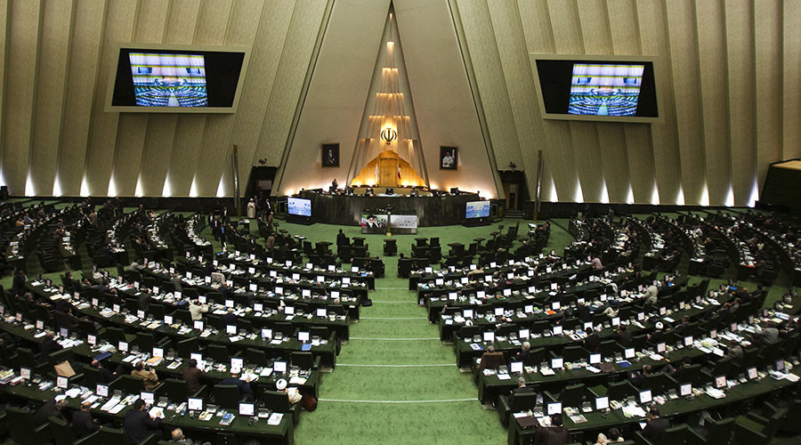 A general view of a parliament session in Tehran. © Raheb Homavandi