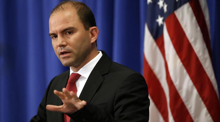 Deputy U.S. national security adviser Ben Rhodes  © Kevin Lamarque
