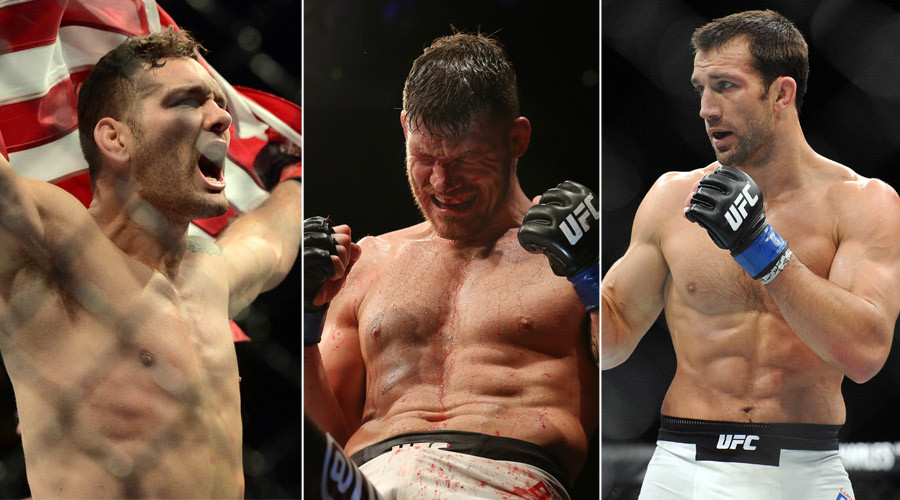 UFC 199: Weidman out injured, Michael Bisping called in to fight Luke Rockhold