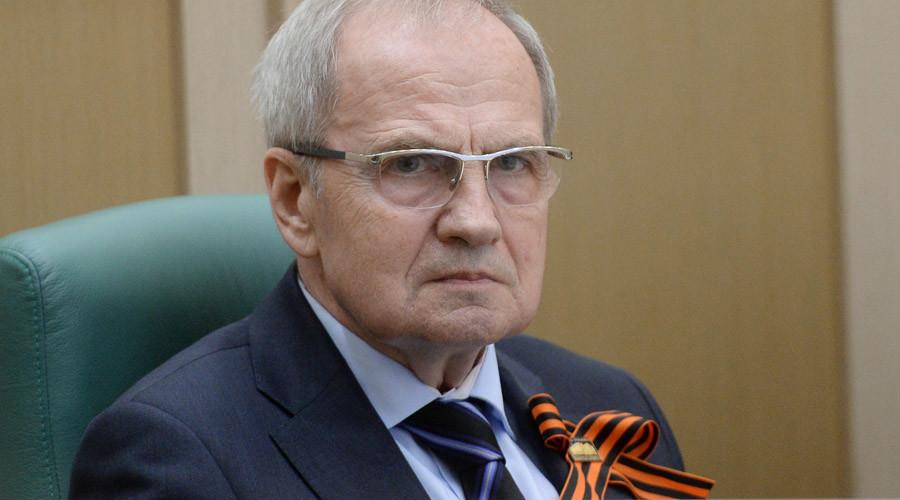 Russian Constitutional Court Chairman Valery Zorkin © Vladimir Fedorenko