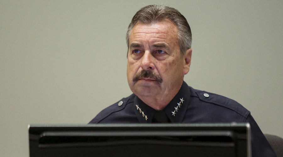 LAPD Police Chief Charlie Beck © Patrick Fallon