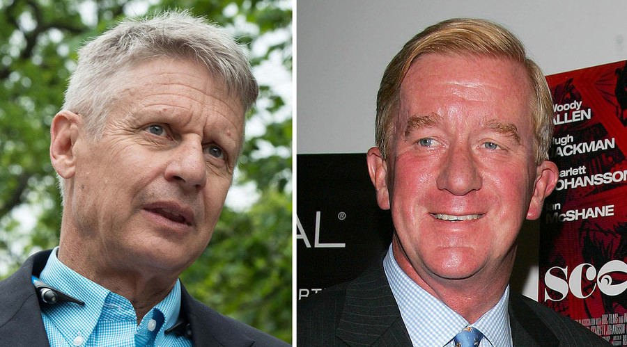 Libertarian Gary Johnson picks former Massachusetts governor as running mate