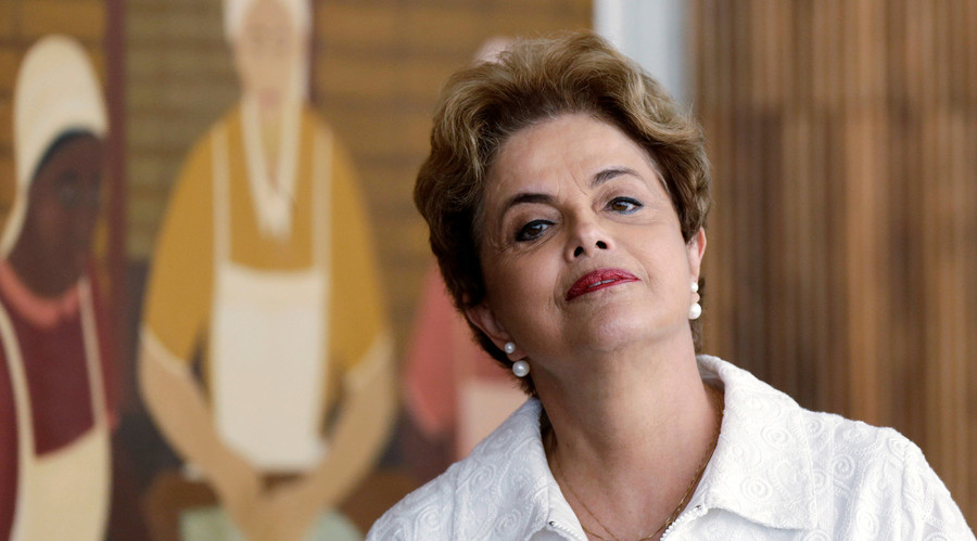 Dilma Rousseff: Old Brazilian oligarchy behind 'coup' (FULL INTERVIEW)