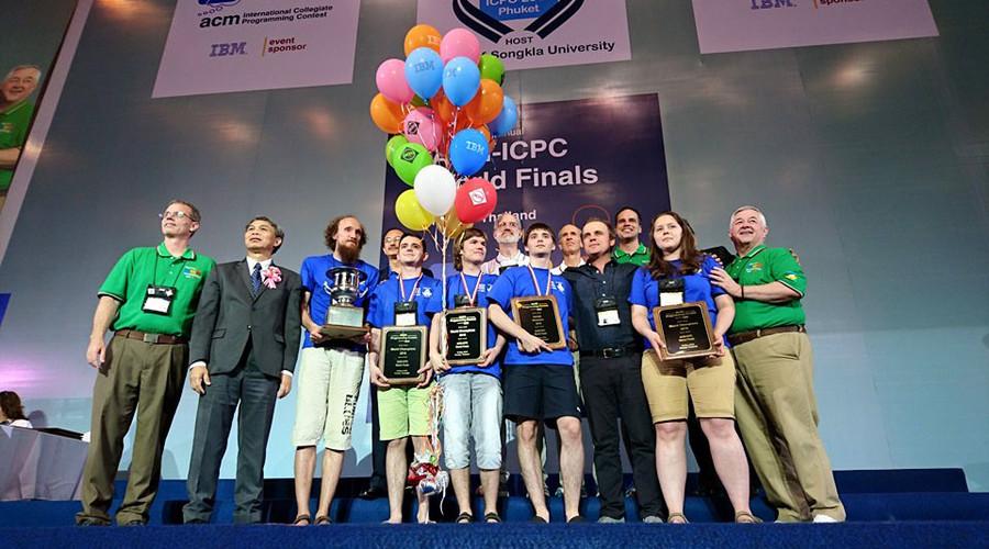 Coding-savvy Russia students best China & US to win 'programming world championship'