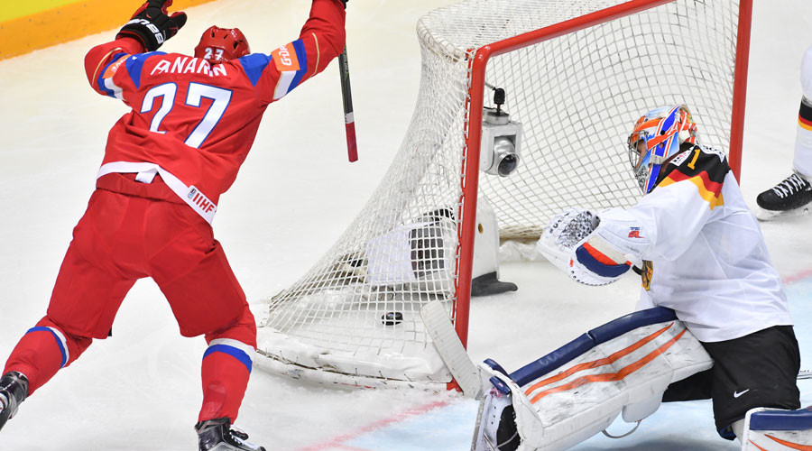 Russia makes it to Hockey World semis after beating Germany 4-1
