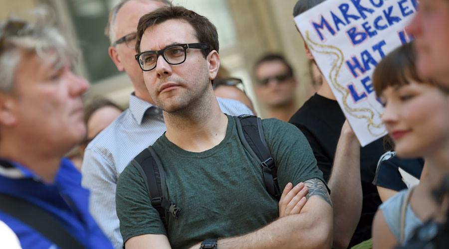 US journalist and internet activist Jacob Appelbaum © Britta Pedersen