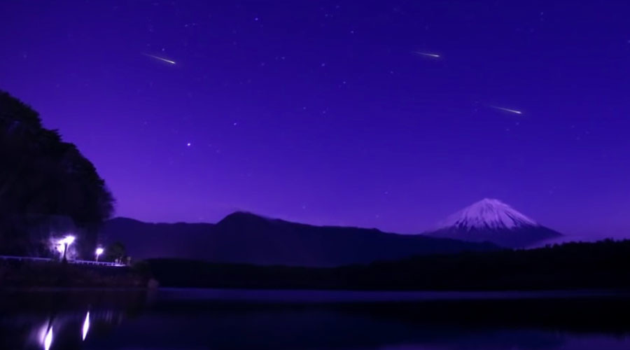 Man-made meteor shower to dazzle skies at 2020 Olympics (VIDEO)